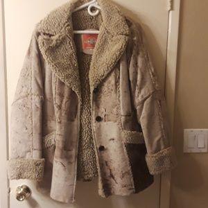 Ms Pioneer Vintage Suede Jacket